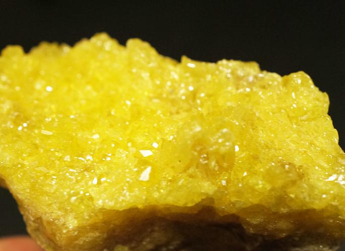 ボリビア産 サルファー(硫黄) クラスター-3