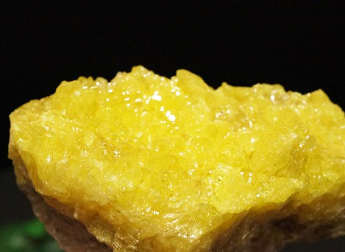 ボリビア産 サルファー(硫黄) クラスター-4
