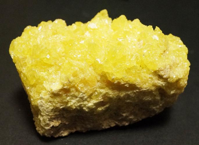 ボリビア産 サルファー(硫黄)クラスター-1