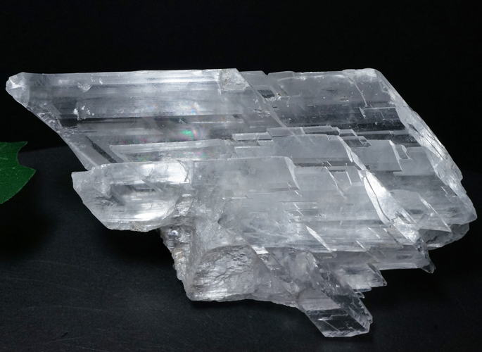 ナイカ産 セレナイトクラスター&レインボー(エンジェル・ウイング)-0