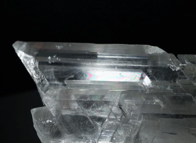 ナイカ産 セレナイトクラスター&レインボー(エンジェル・ウイング)-5