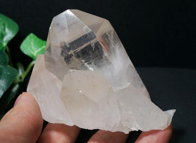 マニカラン水晶クラスター(レコードキーパー&レインボー)-0