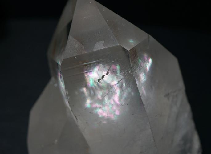 マニカラン水晶クラスター(レコードキーパー&レインボー)