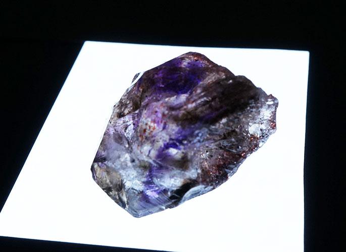 アメジストエレスチャル原石-5
