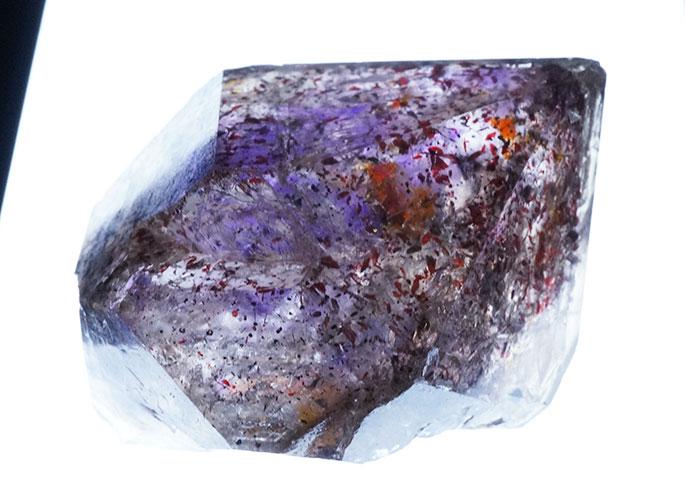 アメジストエレスチャル原石-3
