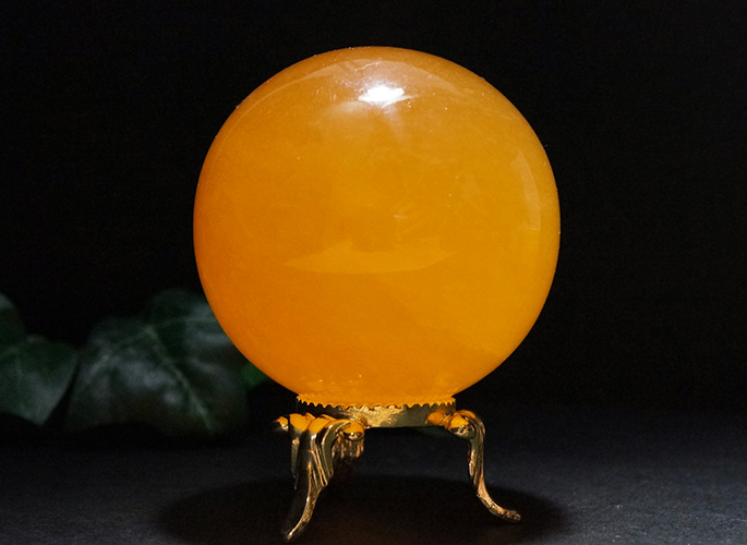 オレンジカルサイト 丸玉Φ55-0