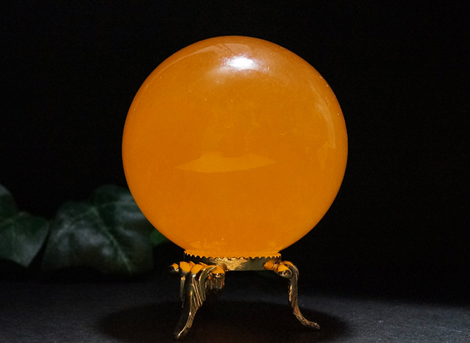 オレンジカルサイト 丸玉Φ55-3