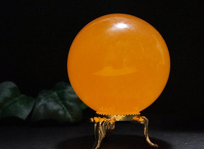オレンジカルサイト 丸玉