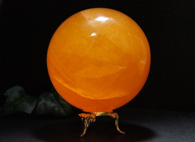 オレンジカルサイト 丸玉Φ80-1