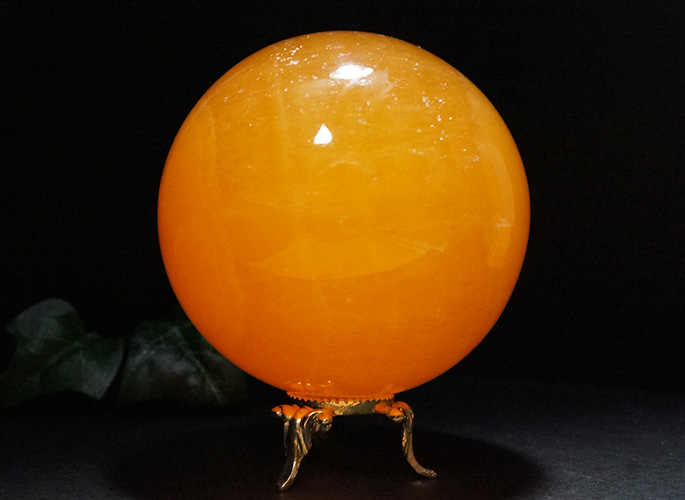 オレンジカルサイト 丸玉Φ80-2