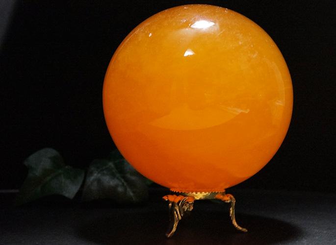 オレンジカルサイト 丸玉Φ80