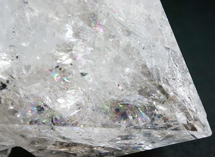ハーキマーダイアモンド&レインボー