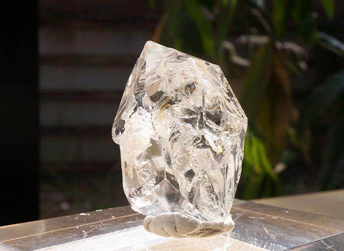 ハーキマーダイヤモンド(レコードキーパー)(20-aki-0414)