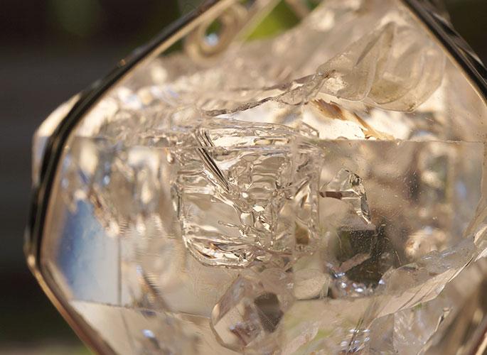 ハーキマーダイヤモンド ペンダントトップ-5