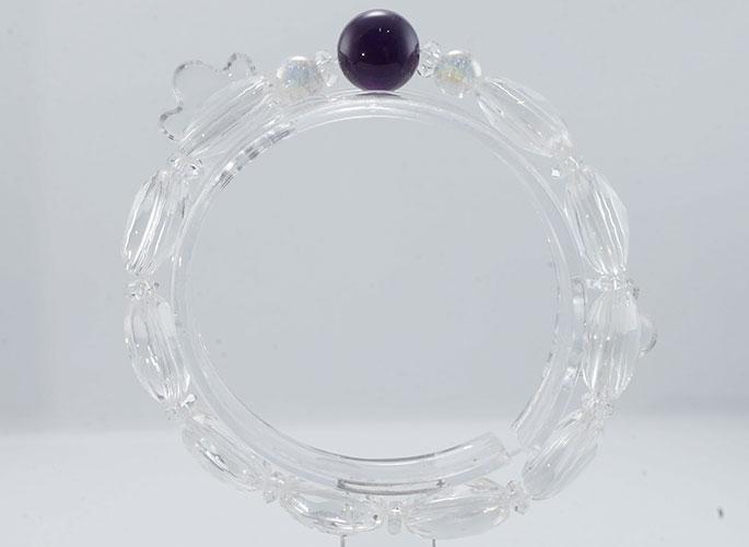 【浄化と変容の石】アメジスト ブレスレット-1
