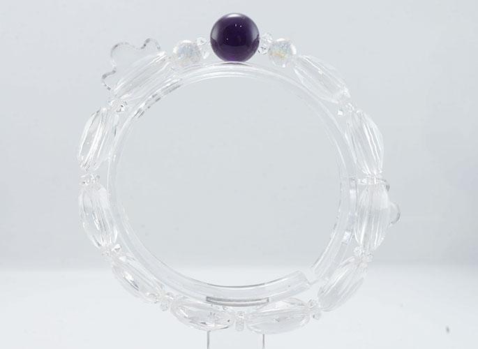 【浄化と変容の石】アメジスト ブレスレット-0