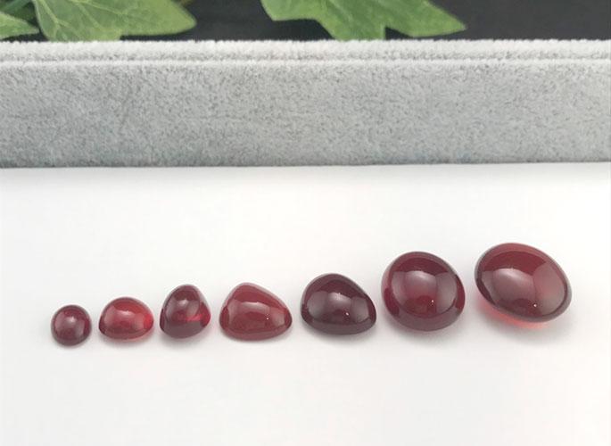 高品質 ファイアーオパール(赤色が強い希少タイプ)-3