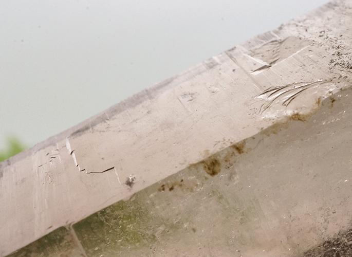 ガネッシュヒマール産水晶 (スモーキークオーツ) ガウリシャンカール産 85g-9
