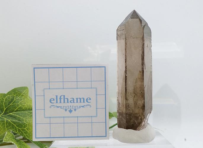 ガネッシュヒマール産水晶 (スモーキークオーツ) ガウリシャンカール産 85g-11