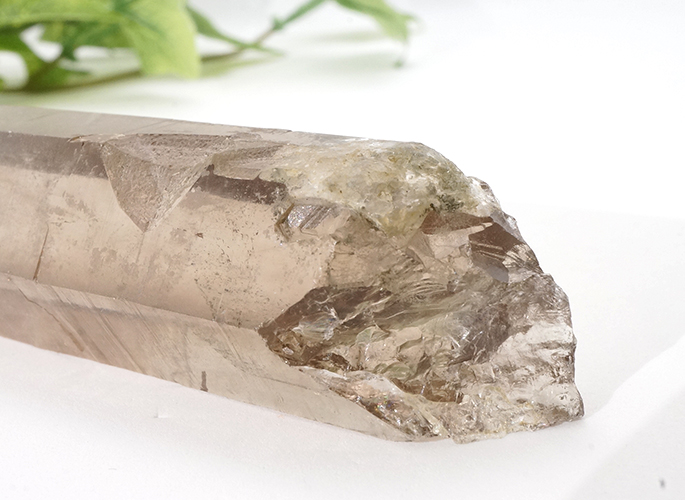ガネッシュヒマール産水晶 (スモーキークオーツ) ガウリシャンカール産 85g-6