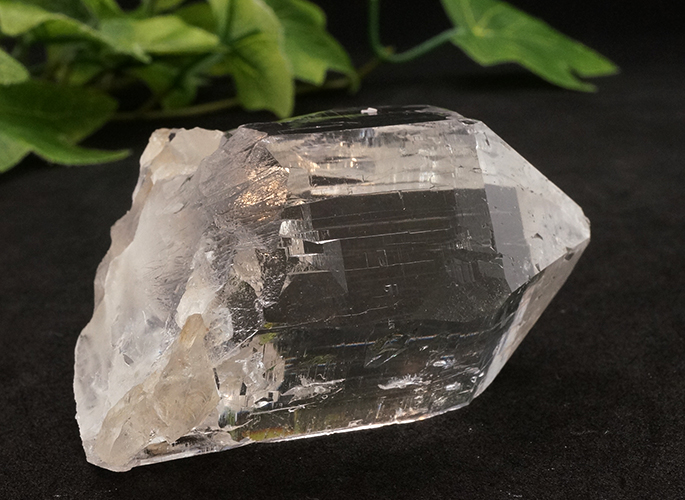 ガネッシュヒマール産水晶 (カテドラル レコード) ティプリン産 108g-3