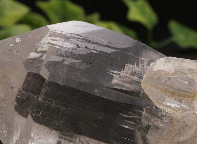 ガネッシュヒマール産水晶 (カテドラル レコード) ティプリン産 108g-5