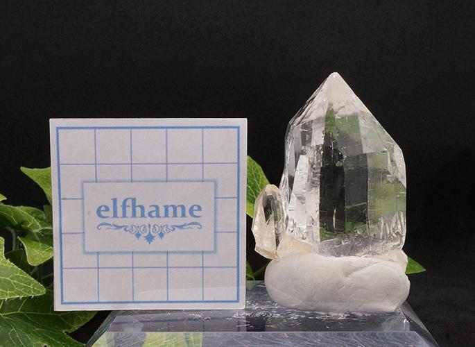 ガネッシュヒマール産水晶 (カテドラル レコード) ティプリン産 108g-9