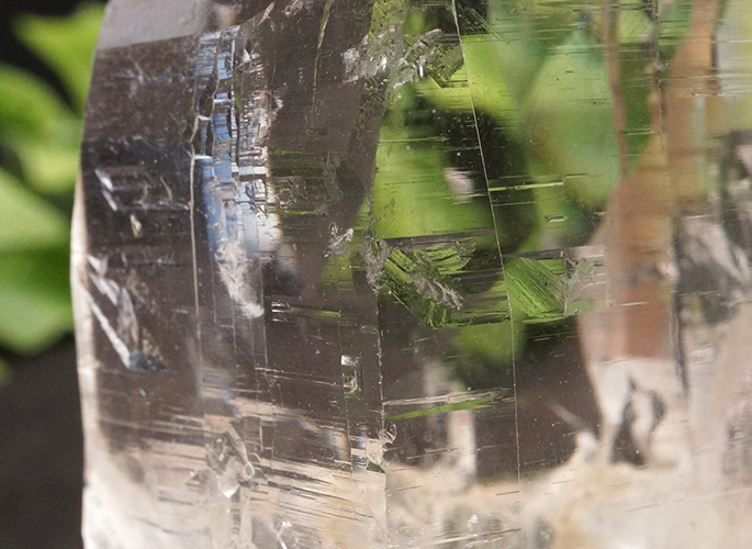 ガネッシュヒマール産水晶 (カテドラル レコード) ティプリン産 108g-8