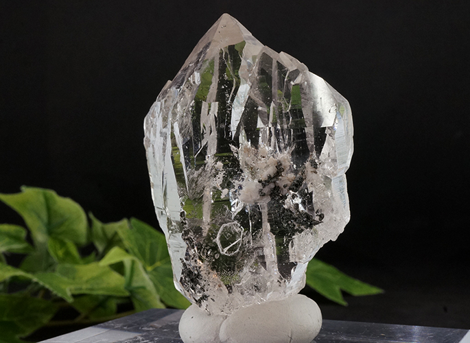 ガネッシュヒマール産水晶 (カテドラル セルフ) ティプリン産 85g-1