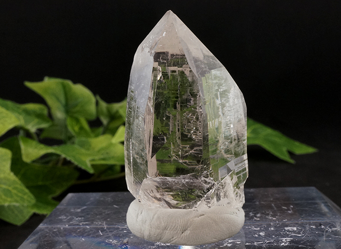 ガネッシュヒマール産水晶 (カテドラル) ティプリン産 56g