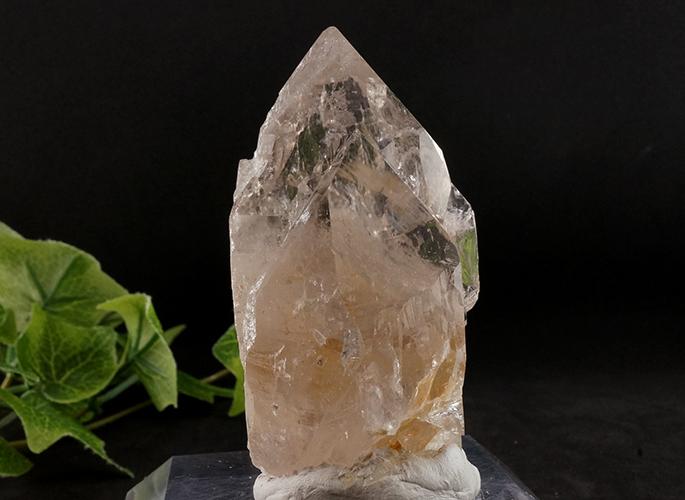 ガネッシュヒマール産水晶 (スモーキーカテドラル 虹入り) ティプリン産 193g-0