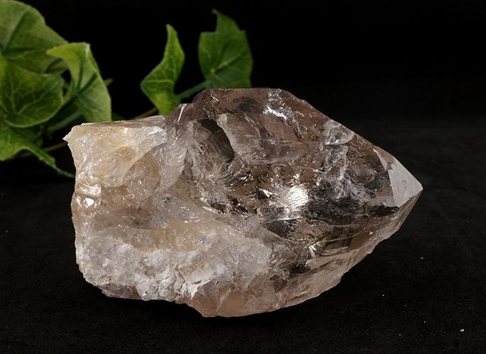 ガネッシュヒマール産水晶 (スモーキーカテドラル 虹入り) ティプリン産 193g-2