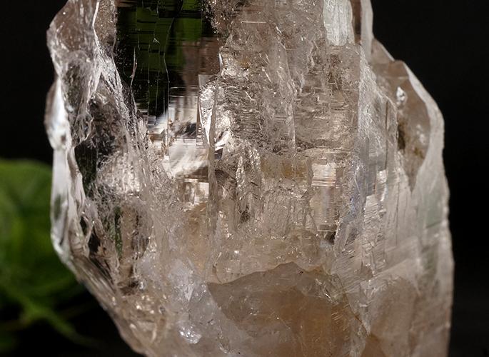ガネッシュヒマール産水晶 (スモーキーカテドラル 虹入り) ティプリン産 193g-5