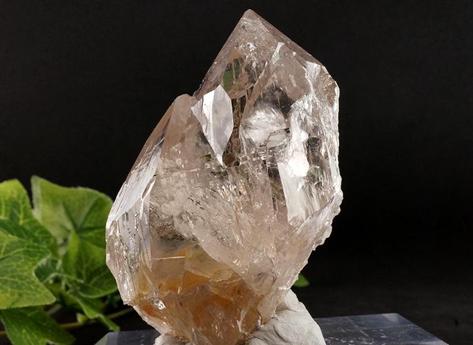 ガネッシュヒマール産水晶 (スモーキーカテドラル 虹入り) ティプリン産 193g-6