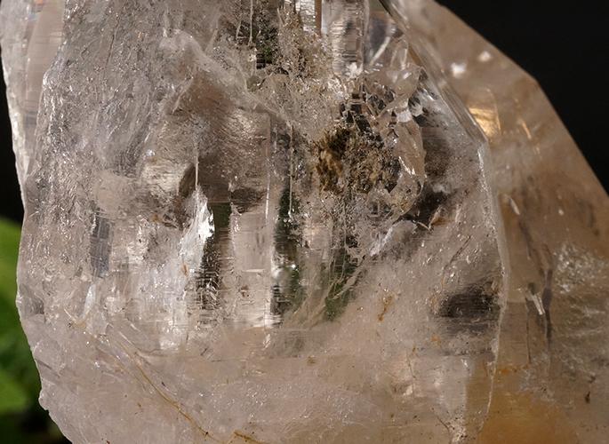 ガネッシュヒマール産水晶 (スモーキーカテドラル 虹入り) ティプリン産 193g-7