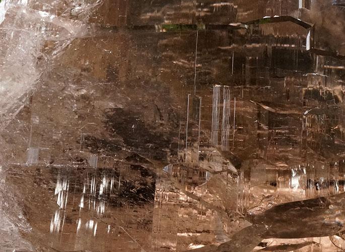 ガネッシュヒマール産水晶 (スモーキーカテドラル) ガウリシャンカール産 1263g -10