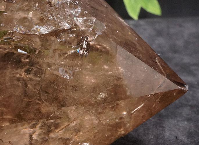 ガネッシュヒマール産水晶 (スモーキーカテドラル) ガウリシャンカール産 1263g -11
