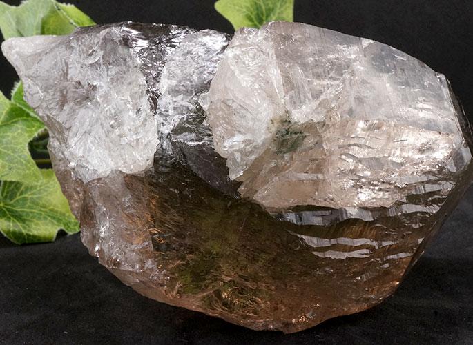 ガネッシュヒマール産水晶 (スモーキーカテドラル) ガウリシャンカール産 1263g -17