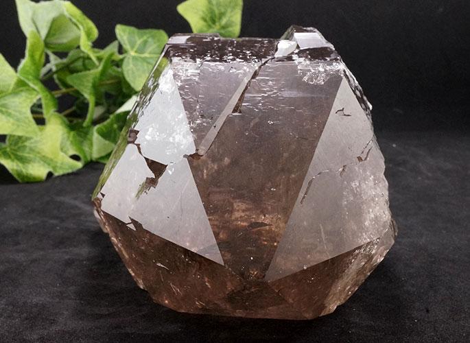 ガネッシュヒマール産水晶 (スモーキーカテドラル) ガウリシャンカール産 1263g -1