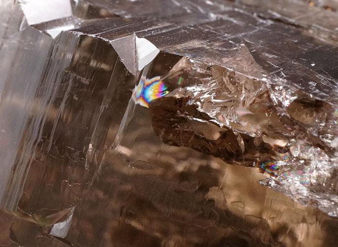 ガネッシュヒマール産水晶 (スモーキーカテドラル) ガウリシャンカール産 1263g -4
