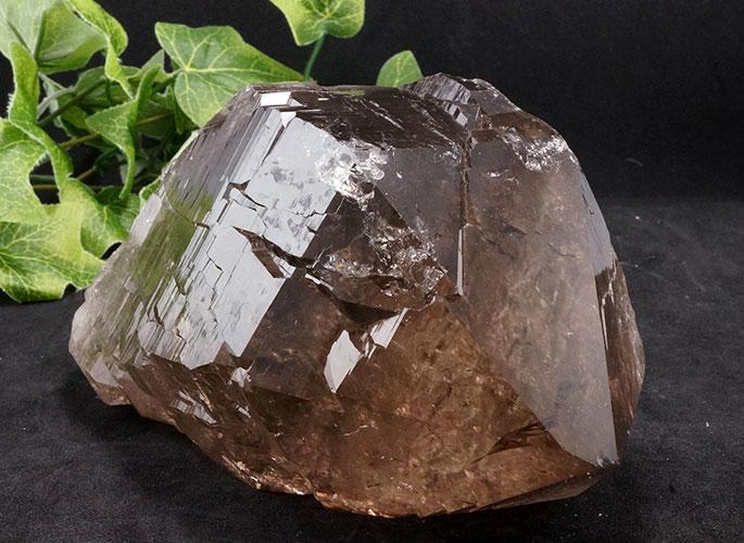 ガネッシュヒマール産水晶 (スモーキーカテドラル) ガウリシャンカール産 1263g -6