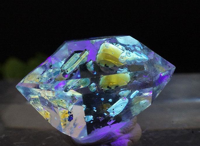 オイルin ハーキマーダイヤモンド ニューヨーク産-8