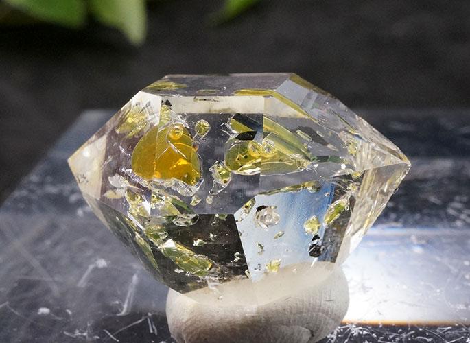 オイルin ハーキマーダイヤモンド ニューヨーク産