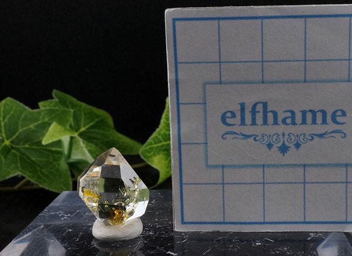 オイルin ハーキマーダイヤモンド ニューヨーク産-10