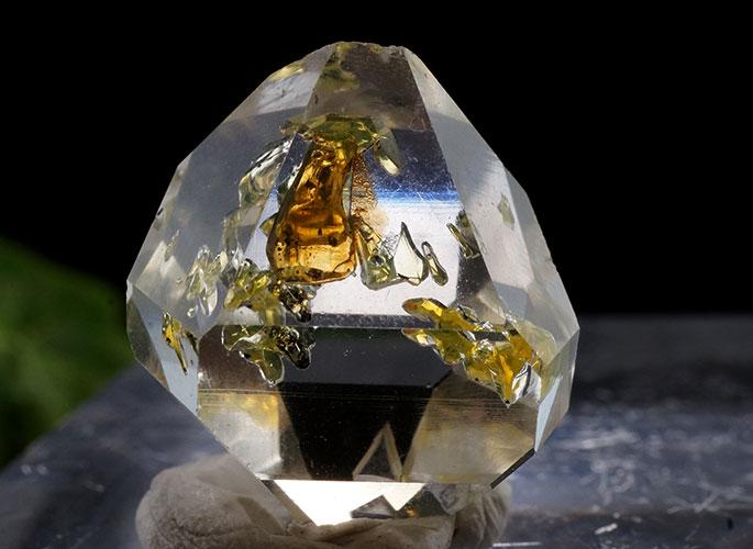 オイルin ハーキマーダイヤモンド ニューヨーク産-6