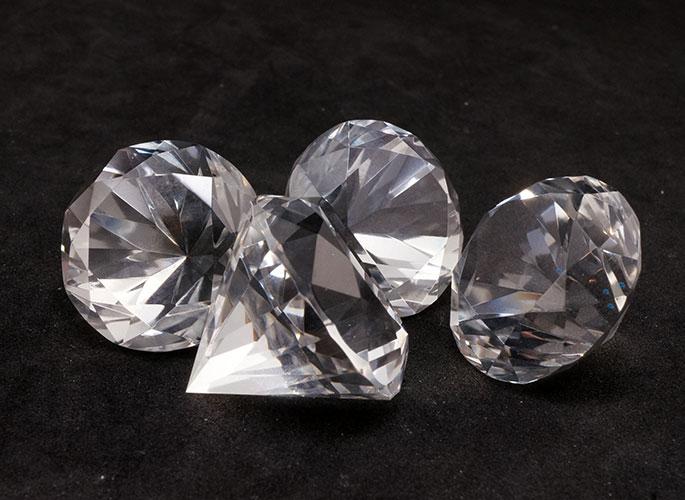 ★激レア!限定品!★高品質サチャロカクォーツ ダイヤモンド結界 4個セット