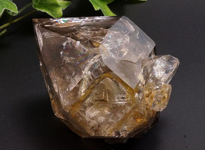 スモーキーハーキマーダイヤモンド(レインボー)-0