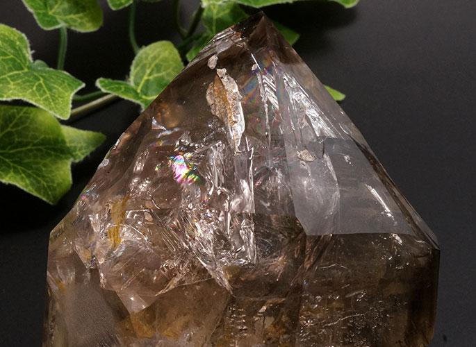 スモーキーハーキマーダイヤモンド(レインボー)-9