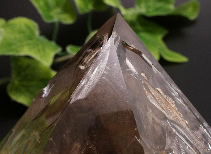 スモーキーハーキマーダイヤモンド(レインボー)-13