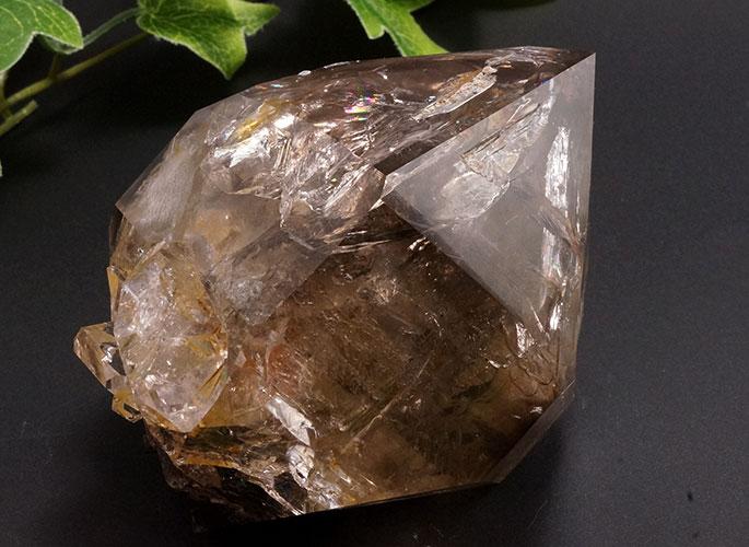 スモーキーハーキマーダイヤモンド(レインボー)-3